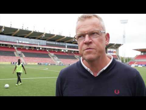 Förbundskapten Janne Andersson på besök
