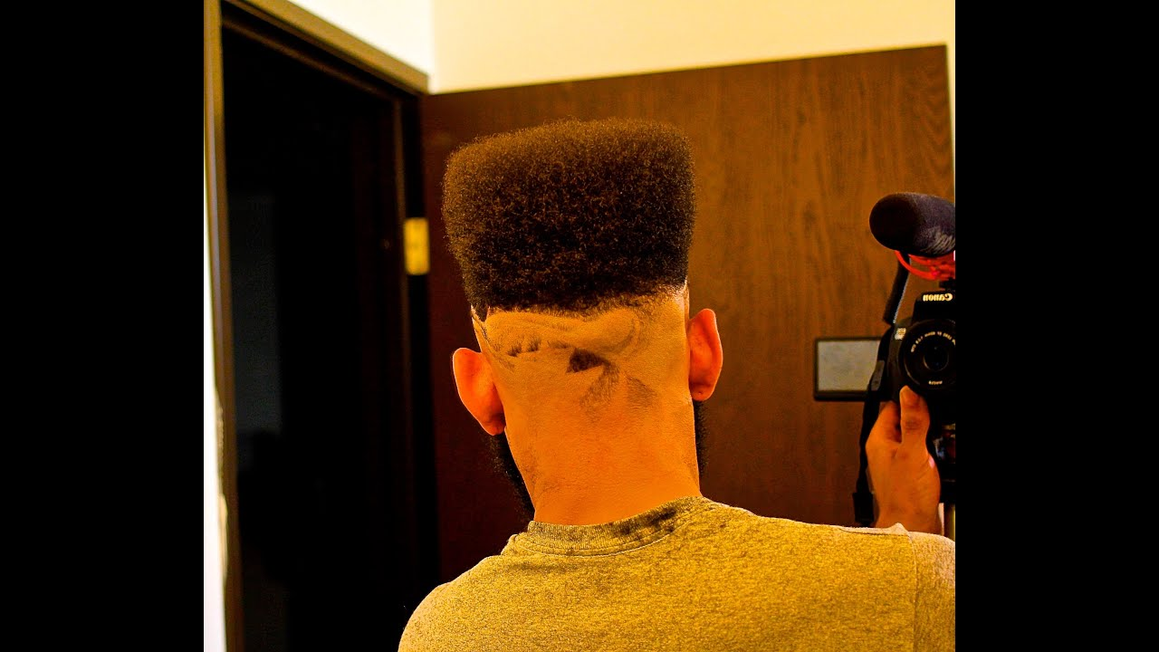 High Top Fade With Freestyle Design Hair Cut By Jaystar
