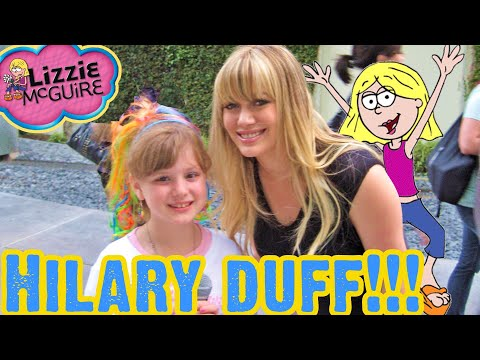 HILARY DUFF Lizzie McGuire Red Carpet Special Interview w Professional Kid Reporter PIPER REESE!