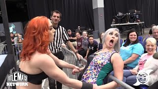 Heather Monroe vs Priscilla Kelly (Women's Wrestling) Queens of the Ring 2 - Director's Cut