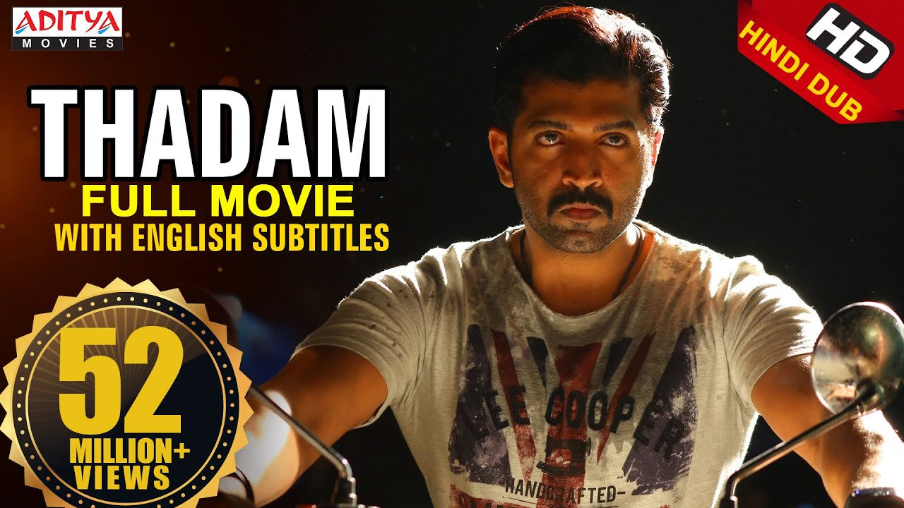 Thadam 2019 New Released Hindi Dubbed Full HD Movie|,Arun Vijay,Vidya Pradeep, Tanya Hope