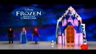 Comercial Mattel latino Frozen Castillo y muñecas de la pelicula