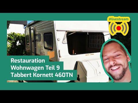 Das Ende naht + Elektrik (E9) Wohnwagen restaurieren