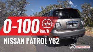 2018 Nissan Patrol Ti-L (Y62) 0-100km/h & engine sound