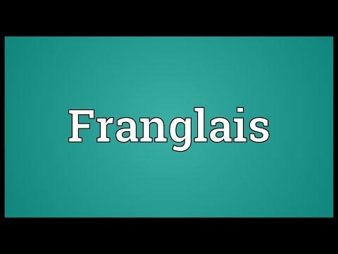Header of Franglais