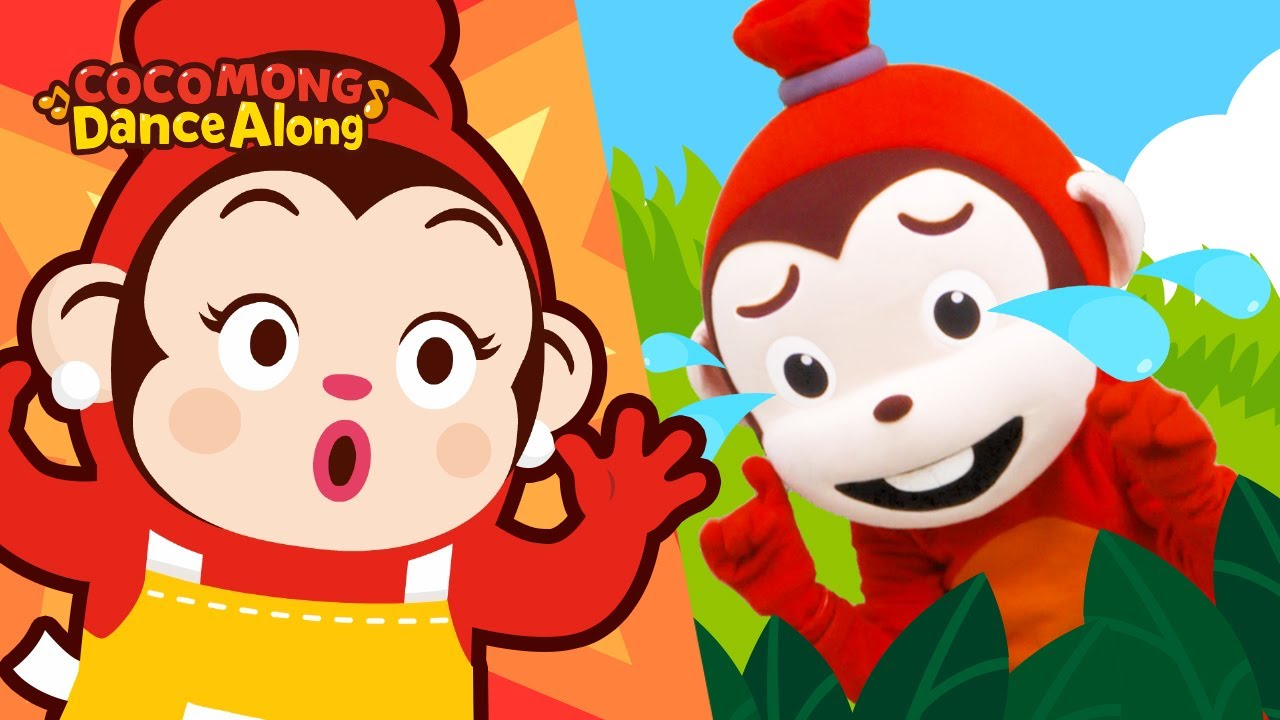 다섯 원숭이 | 코코몽과 함께 부르는 신나는 율동 동요 | 코코몽 영어 동요 | 어린이 노래, 코코몽 율동체조