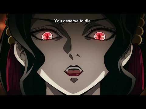 Музан Кибуцуджи убивает низших лун | Эпизод 26 | Клинок рассекающий демонов | Kimetsu No Yaiba