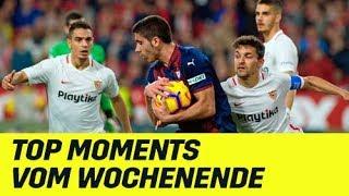Dribblings, Tore & Kurioses: Top Moments aus La Liga, Serie A & Ligue 1 vom Wochenende | DAZN