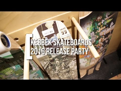 Skate Invasion: Kebbek Skateboards 2016 Release Party - Skate[Slate].TV