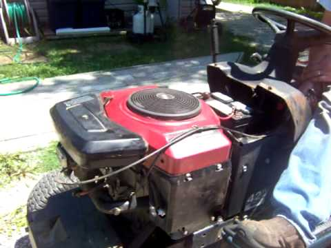 briggs 19 5 hp i c platinum engine youtube rh youtube com