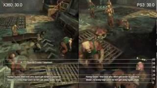 Batman: Arkham City Xbox 360/PlayStation 3 Frame-Rate Tests