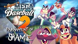 Tournament of Shame - Super Mega Baseball 2 - SEMI FINALS [Northernlion vs RockLeeSmile]