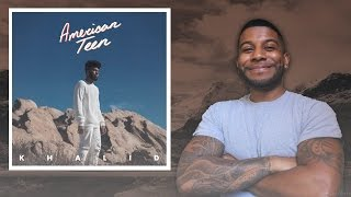 Khalid American Teen Reaction Review Meamda