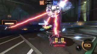Playing the Ghostbusters Game Mode in Rocket League