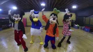 Disney Characters | #NaeNae Dance | Super Sega Dragons
