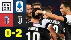 Ronaldo vom Punkt, Dybala mit der Fackel: Bologna - Juventus 0:2 | Serie A | DAZN Highlights