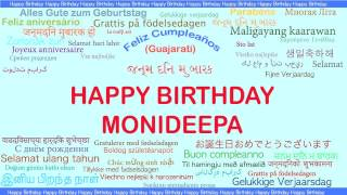 Monideepa   Languages Idiomas - Happy Birthday