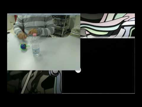 OpenCV Demo: Object tracking with Kalman Filter