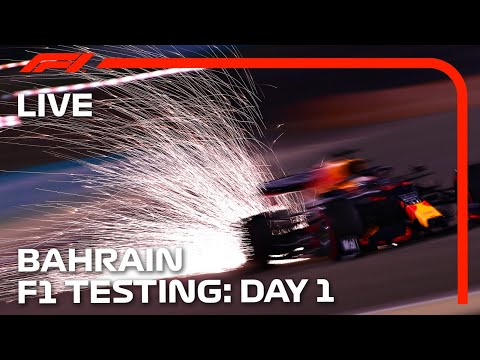 2021 F1 Testing   Day 1 Afternoon Session   Bahrain