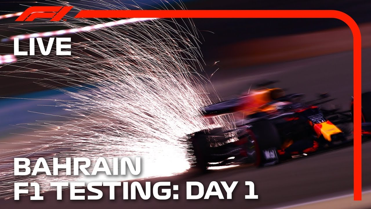 Download 2021 F1 Testing   Day 1 Afternoon Session   Bahrain