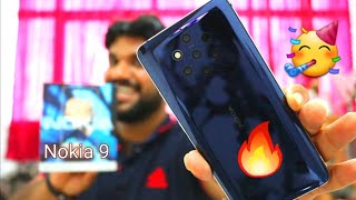 Hindi | Nokia 9 Pureview Unboxing.. De Dana Dan Camera..