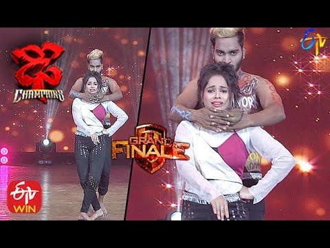 Tejaswini Performance |  Dhee Champions | Grand Finale| 9th December 2020 | ETV Telugu
