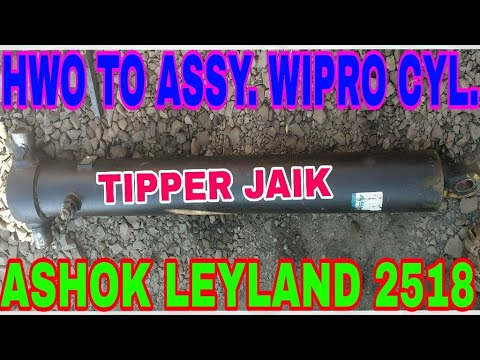 Hwo To Wipro Hyd. Cylender Assy. From Ashok Leyland 2518, By Mechanic Gyan,