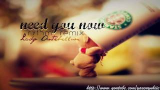 need you now (rythm remix) - lady antebellum (lyrics + download link)