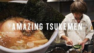FAST ramen chef Miyake! Tsukemen Experience - Fuunji in Shinjuku, Tokyo | Japanese Food