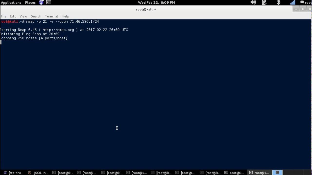 NMAP Tutorial - FTP Port Scan (Port 21) [Kali Linux]