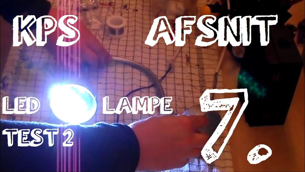 Klar parat start 7 led lampe test 2 youtube 7 led lampe test 2 parisarafo Images