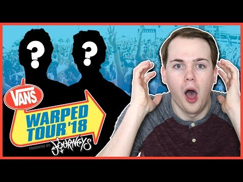 REACTING TO WARPED TOUR'S FINAL LINEUP (Am I Going?) Mp3