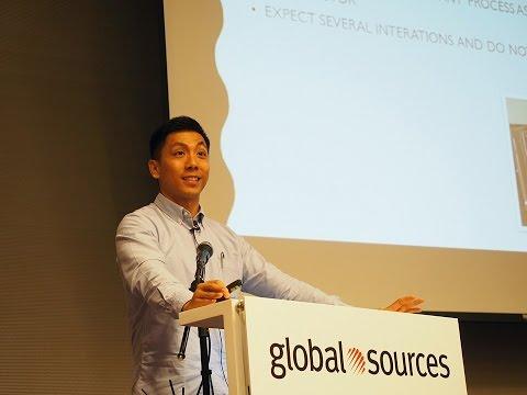 Taking Fishbone to Market on Amazon - Ben Wong, Global Sources Summit
