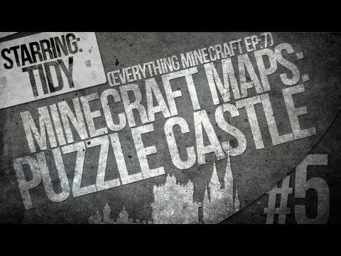 Railway Confusion - Puzzle Castle [Part 5] (Minecraft Map)