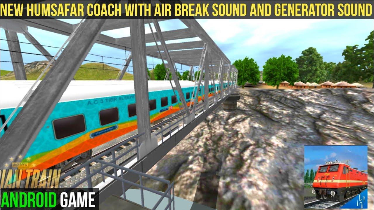 Indian train simulator new update | Heavy Traffic | New Humsafar