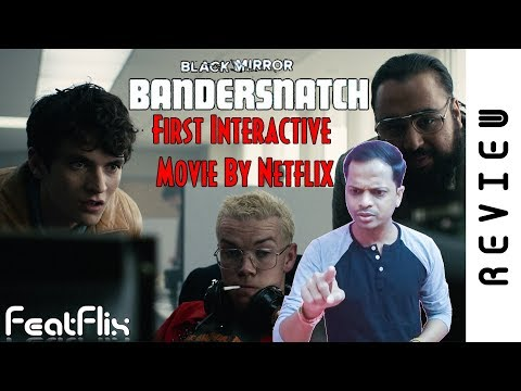 Black Mirror - Bandersnatch (2018) Netflix Drama, Mystery, Sci-Fi Movie Review In Hindi | FeatFlix