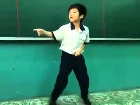 Học Sinh Tiểu Học Việt Nhảy Gangnam Style ở Việt Nam Giống PSY