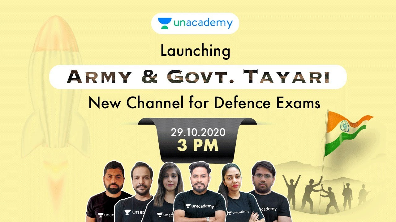 New Channel Launch for Defence Exams 🔴 LIVE 3:00 PM | Army & Govt. Tayari