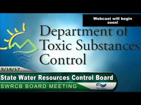 SWRCB Board Meeting 051617