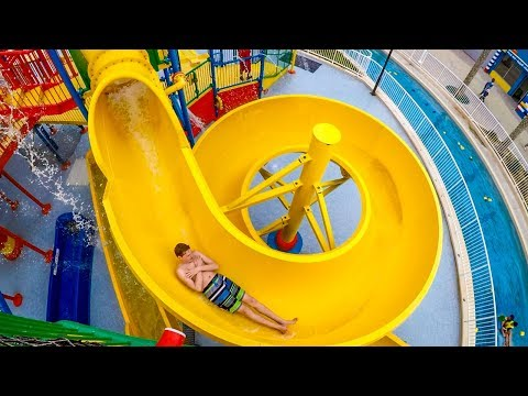 LEGOLAND Dubai - Joker Soaker | HUGE Water Play House with Waterslides!