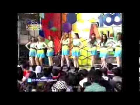 BeXXa - lihat Aku 100% Ampuh Global Tv 7 juni 2012