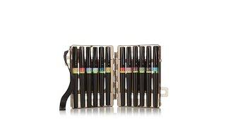 Spectrum Noir Glitter Brush Pens 12pc Set Vintage Hues