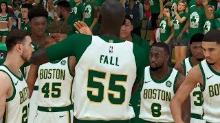 NBA 2K19 Tacko Fall My Career Ep. 16 - Game 7 Win or Go Home!