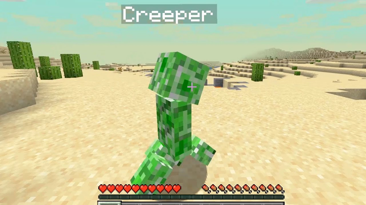 Don't Be Friends With a Creeper in Minecraft How to be reach