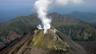 Камчатка Вулканы Карымский вулкан