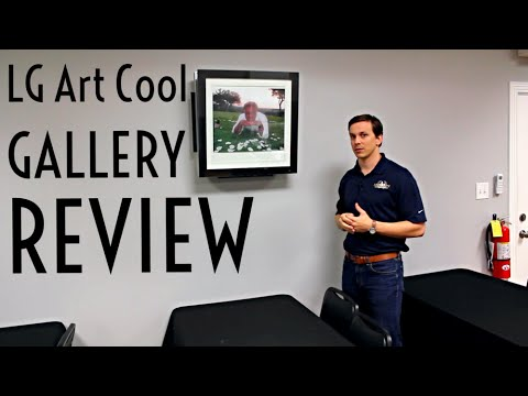 Review Lg Art Cool Gallery Youtube