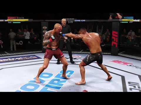 EA SPORTS UFC 3: Pearson vs. Trujillo (Online Quick Match) Pt.3