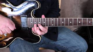 Mountain - Leslie West - Mississippi Queen - how to play the intro