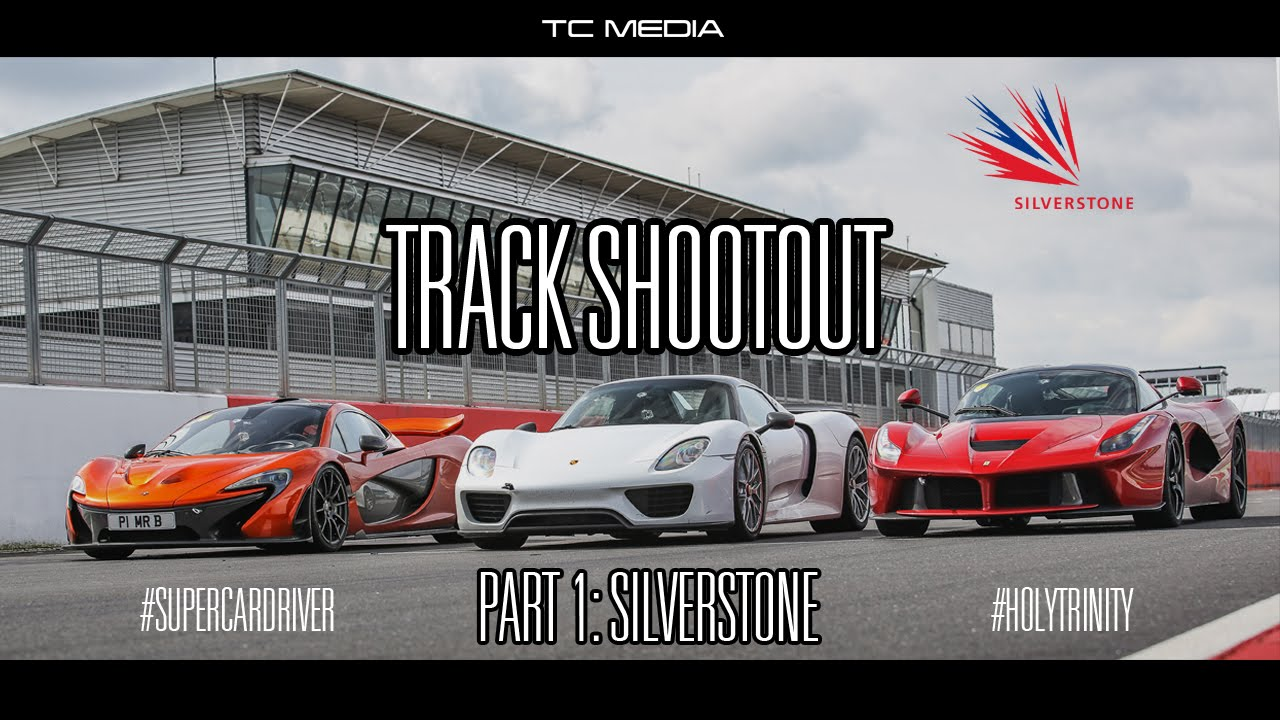 Track Shootout - P1 v LaFerrari v 918 Spyder [Part 1/3] Video Thumbnail