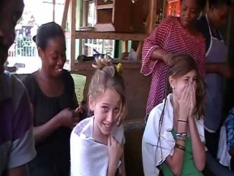 Hair salon in Ghana